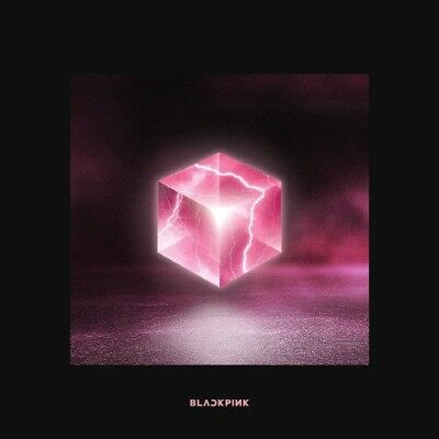 BLACKPINK-[Square Up]1st Mini Album Black CD+Poster+Book+Lyrics+Selfie+Card+Gift