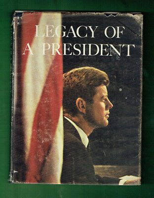 #T88.  Legacy Of A President John Kennedy Book Usa Consulate Documentation