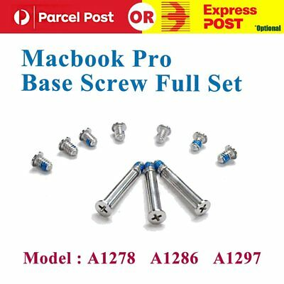 "For Apple MacBook Pro 13"" 15"" 17"" A1278 A1286 A1297 Bottom Case Screws Kit"