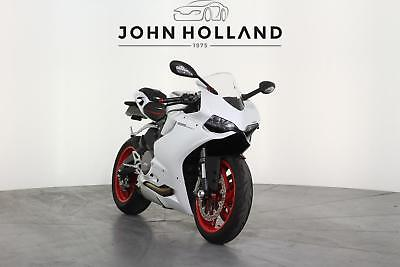 2015 Ducati 899 Panigale 899 Panigale ABS DTC EBC Finished In Silk White with Re