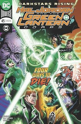 Hal Jordan And The Green Lantern Corps #45 Dc Universe - Boarded - Free Uk P+P