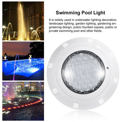 35W Underwater Swimming Pool SPA Light Waterproof RGB 7Color LED Remote Control