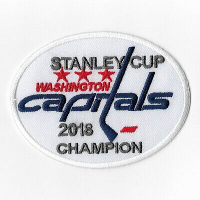 sports shoes 6edef 2ef3f NHL WASHINGTON CAPITALS 2018 Stanley Cup Champions Iron on ...