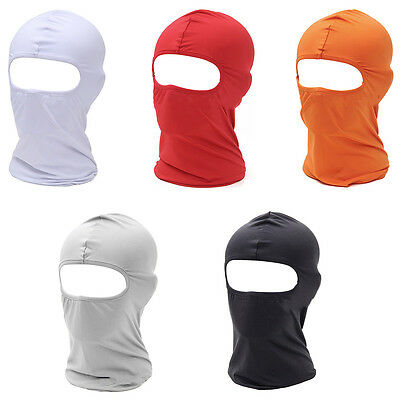 Ski Motorbike Thermal Fleece Balaclava Neck Full Face Mask Cover For Unisex