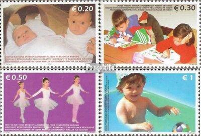 kosovo (UN-Administration) 50y-53y mint never hinged mnh 2006 Children