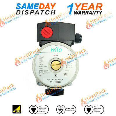 Wilo Rs 25/6 Secondary Hot Water Pump