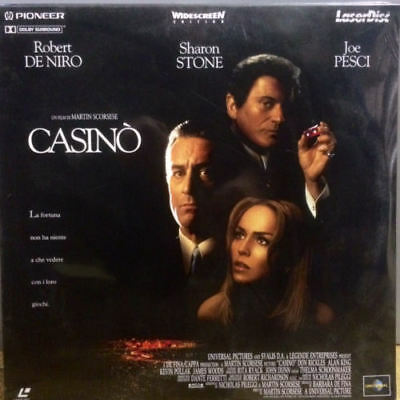 CASINO' - laserdisc -  Robert De Niro, Joe Pesci - LASER  DISC come NUOVO