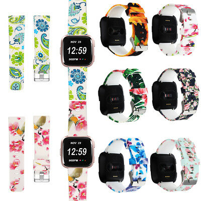 Women's Girl Replacement Wrist Band Watch Strap For Fitbit Versa Smart Bracelet