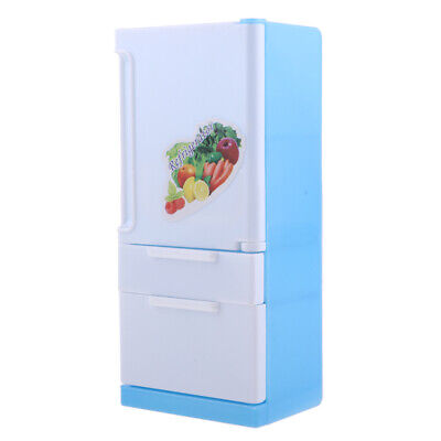 Perfectly Kids Toy Plastic Mini Refrigerator Toy Fridge Model Pretend Toy