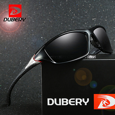 DUBERY Men Sport Polarized Sunglasses Outdoor Riding Driving Fashion Glasses Hot