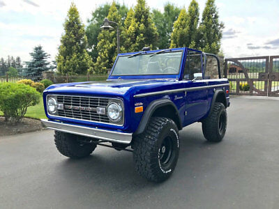 Ford Bronco Show Quality Bronco - Very Straight! 1971 Ford Bronco - 302 V8, Power Steering and Power Disc Brakes! Zero Rust