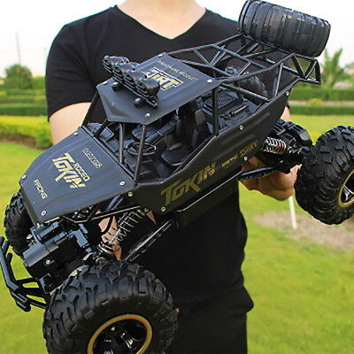 37CM Big 4WD Off-Road Car Rock Crawler Monster Vehicle Truck Buggy, 2.4G RC Toy