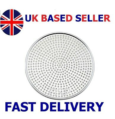 "6"" to 18"" Heavy Duty Mega Pizza Screen Aluminium Perforated Pan Baking Tray Supe"