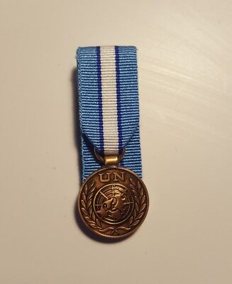 UN Cyprus Miniature Medal Court Mounted