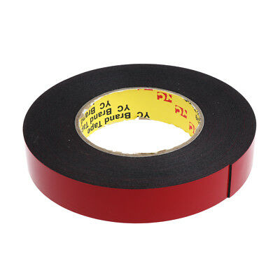 33ft / 10m Double Sided Foam Adhesive Tape Automotive Mounting 25mm Width