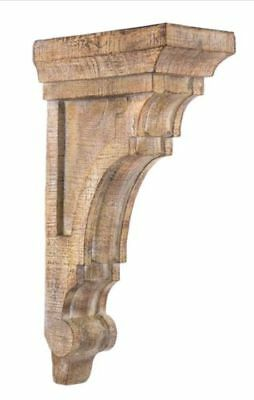 LARGE RUSTIC CORBELS / BRACKETS Tuscan Style Set Of 2 No TAX Brand NEW