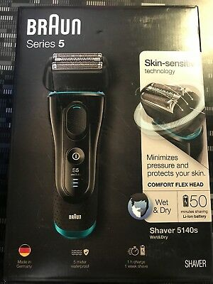 Braun Series 5 5040S Men Shaver Wet & Dry Pop Up Trimmer Cordless Rechargeable