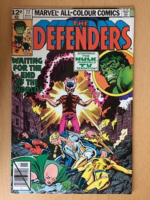 The Defenders #77 (Wasp, Valkyrie, Hellcat, Moondragon) - Very good condition