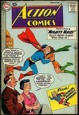 Action Comics #260 1960-Superman-Congorilla-Supergirl G/vg