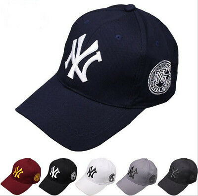 NEW Unisex New York Yankees Baseball Mens Women Hat Sport Snapback Cap Cotton