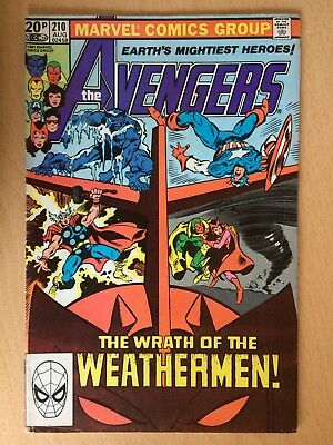 Avengers #210, Marvel. August 1981 - Good condition