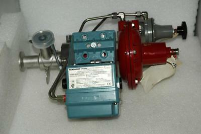 Research Control Valve Actuator 1004ASY3LY Eckhardt SRI986 Positioner Sanitary