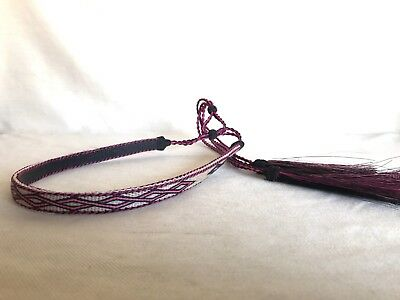 Hitched Horsehair Hatband