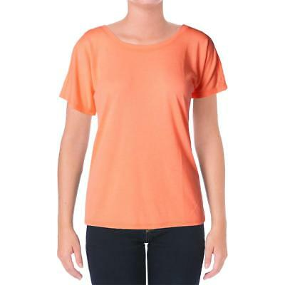 RBX Womens Jersey Open Back Dolman Sleeves T-Shirt Top BHFO 4072