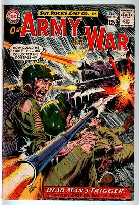 Our Army At War #141 1964-Dc War Comic-Sgt. Rock-Vg/fn Vg/fn