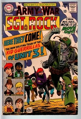 Our Army At War #194 1968-Dc War Comic-Sgt. Rock-Vg/fn Vg/fn