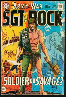 Our Army At War #220-Sgt. Rock-Dc-Wwii G/vg