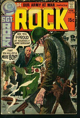 Our Army At War #228-Sgt. Rock-Dc-Wwii Vg