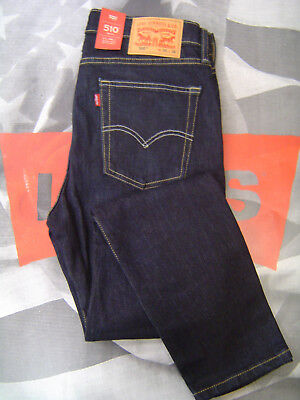 Levi's 510 Men's Skinny Fit Zip Fly Stretch Jeans Nevermind