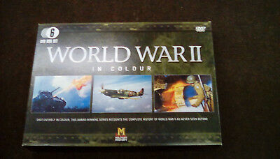 World War 2 in colour box set of 6 dvds