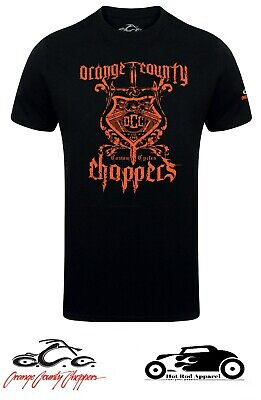 Official Orange County Choppers 'V-Twin' T-Shirt includes *FREE* Stickers.