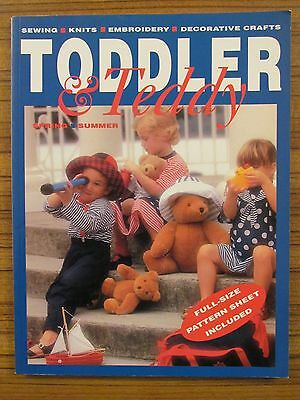 Toddler & Teddy - Spring/summer  Sewing Knits Decorative Crafts Embroidery