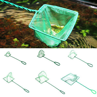 Aquarium Fish Tank Fine Fish Net Tropical Coldwater Marine Netting Scoop PICK