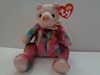 Ty Beanie Baby October # 4380 Tenth Generation 2001 Retired MWMT