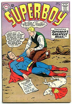 Superboy #106 1963- DC Silver Age- Krypto cover FN