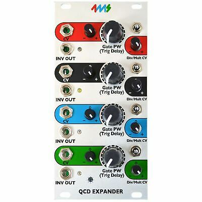 4ms Company QCD Expander Expansion Module for the Quad Clock Distributor