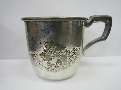 Web Silver Company Sterling Silver Gilt Lined Baby Cup 512