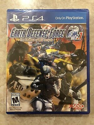 Earth Defense Force 4.1 The Shadow of Despair( Sony Playstation 4 )PS4,Brand New