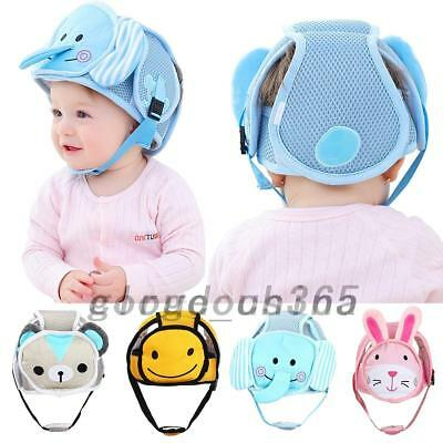 Kids Toddler Baby Safety Hat Helmet Headguard No Bumps Adjustable Walk Cap AU