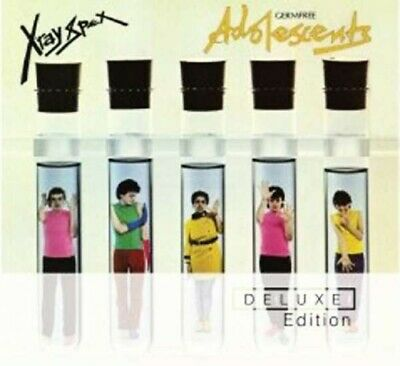 X-Ray Spex - Germ Free Adolescents (Deluxe Edition) (Musik-CD)