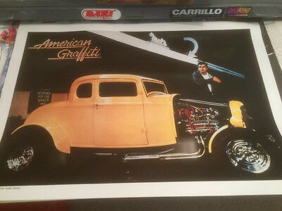 1989 American Graffiti Milner's 1932 Ford Hot Rod Limited Edition Poster