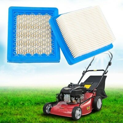 2Pcs Lawn Mower Air Filter Replacement For Tecumseh 36046 740061 Engines 33325