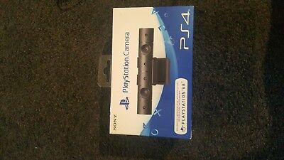 Playstation 4 vr headset. With playstation camera. Still on original box with...
