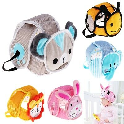 Infant Baby Toddler Safety Helmet Kids Head Protection Learing Walking Hat