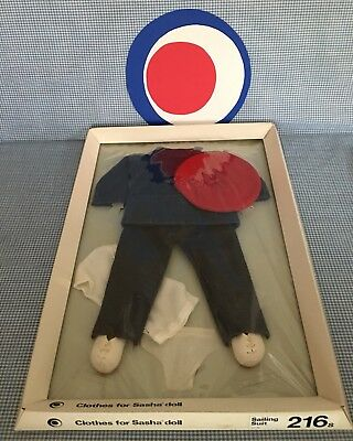 8 Pieces * Clothes for SASHA DOLL: SAILING SUIT  *Made in England* TRENDON