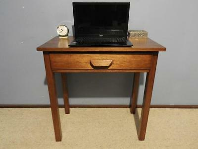 Vintage Art Deco Retro Industrial Office Writing Desk Sewing Hall Table 1942